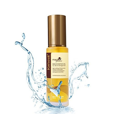 Argan Oil Karseell Pure Moroccan Oil Essential Oils Hair Serum Conditioner for Hair Skin and Nails Treatment Rich in Anti-Aging Vitamin E 50ml