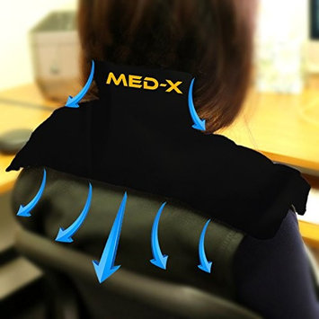 Neck Pain Cold Ice Pack Reusable Gel Shoulder Compress Wrap Therapy For Frozen Shoulder , Bursitis , Polymyalgia Rheumatica , Cervical Radiculopathy , Brachial Plexus Injury by Med-X