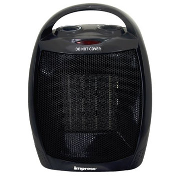 Impress Ceramic Heater with Thermostat