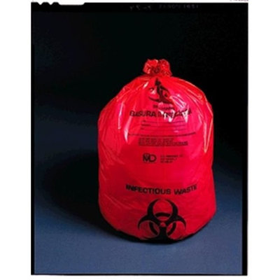 Medegen Medical MAI 47-41 23 x 8 x 41 in. Infectious Waste Bag - 100 per Case