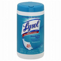 Lysol Disinfecting Wipes Ocean Fresh 80.0 ea(pack of 4)