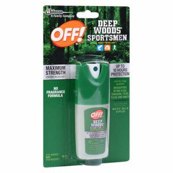 Deep Woods Off! Deep Woods Sportsmen Insect Repellent I Spray 1.0 fl oz(pack of 6)