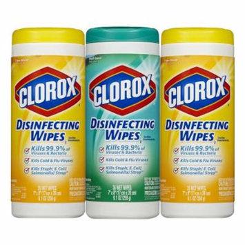 Clorox Disinfecting Wipes Value Pack Fresh Scent & Citrus Blend 35.0 ea(pack of 1)