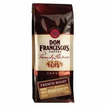 Don Francisco's Organic Dark Roast Ground Coffee, French Roast, 10 Oz