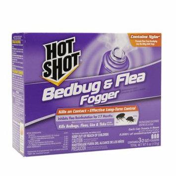 Hot Shot Bedbug & Flea Foggers 2.0 oz(pack of 6)