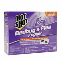 Hot Shot Bedbug & Flea Foggers 2.0 oz(pack of 2)