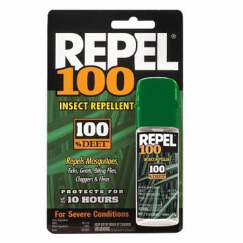 Repel 100 Insect Repellent, 100% DEET 1.0 fl oz(pack of 12)