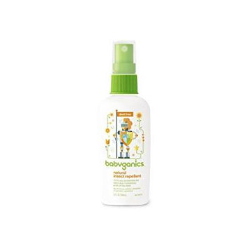 Babyganics Natural Insect Repellent, 2oz (Pack of 4)