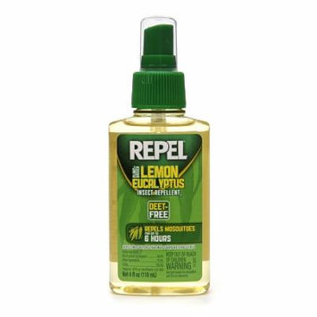 Repel Plant Based Lemon Eucalyptus Insect Repellent 4.0 fl oz(pack of 4)