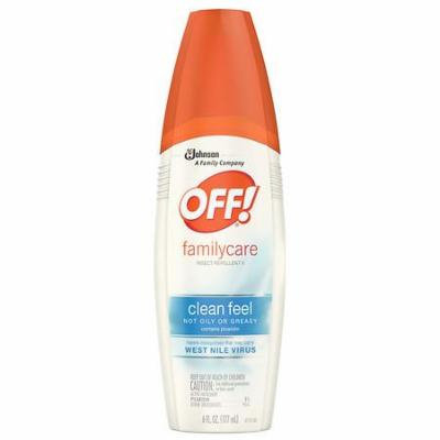 Off! Skintastic Family Care Insect Repellent Spray 6.0 fl oz(pack of 4)