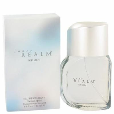 Inner Realm by Erox Eau De Cologne Spray (New Packaging) 3.4 oz
