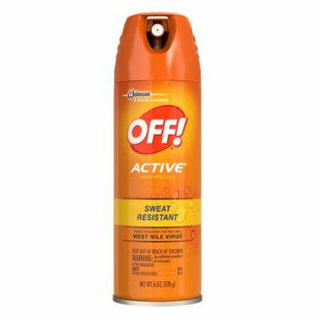 Off! Active Insect Repellent I 6.0 oz.(pack of 4)