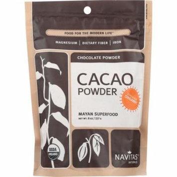 Navitas Naturals Cacao Powder, 8 Oz (Pack Of 12)