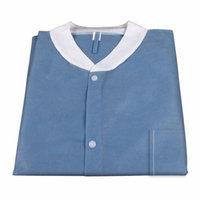 Labjacket w/ Pockets: DARK BLUE Large 1 Unit