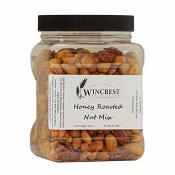 Honey Roasted Peanuts, Cashews, & Almond Mix - 1 LB Container