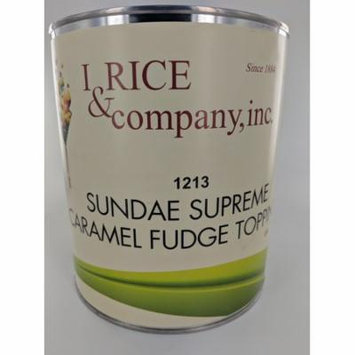 I.Rice & Company Caramel Topping, 10 lb. Can | 1 Each