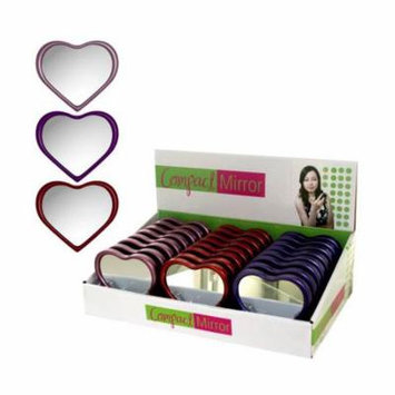 Heart-Shaped Suction Mirror Display