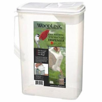 8 QT Dual Pour Bird Seed Container Only One