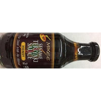 Mikee Sesame Teriyaki Sauce Honey No MSG 20 Oz. Pack Of 3.