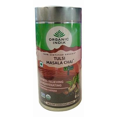 (6 PACK) - Organic India - Org Tulsi Masala Chai | 100g | 6 PACK BUNDLE