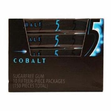 Wrigleys 5 Gum Cobalt 15 Stick Each ( 10 In A Pack )