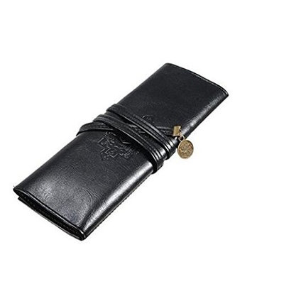 KingWinX Zipper Cosmetic Bag, Brown