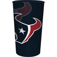 Hoffmaster Group 119513 20 by 1 Count Houston Texans 22 oz Plastic Favor Cup - Case of 20