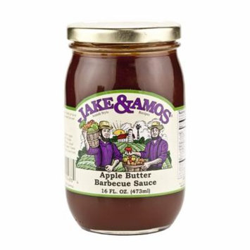 Jake & Amos Apple Butter Barbecue Sauce 16 oz. ( 3 Jars)