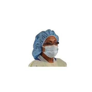 Cardinal Health Insta-Gard Procedure Face Mask, with Eyeshield, Blue 1 Count