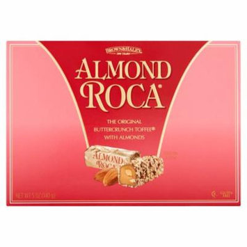 Brown & Haley Almond Roca The Original Buttercrunch Toffee with Almonds, 5 oz