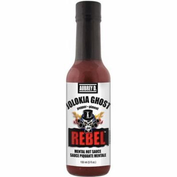 Red Hot Ghost Peppers in Aubrey D. Rebel Jolokia Ghost Hot Sauce, the Worlds Spiciest Pepper Is a Hot Heads Delight to Haunt You