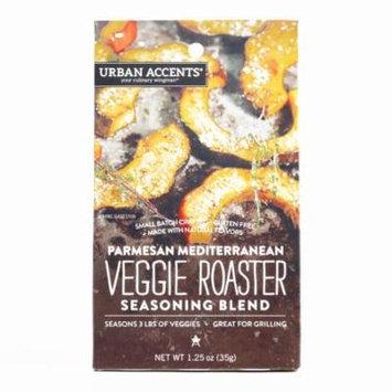 Urban Accents Spices Vegetable Rub 1.25 oz each (1 Item Per Order, not per case)