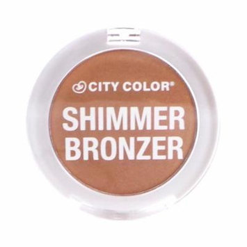 (6 Pack) CITY COLOR Shimmer Bronzer - Copper