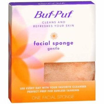 Buf-Puf Gentle Facial Sponge 1 ea(pack of 6)