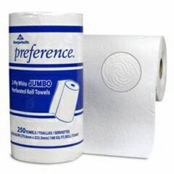 Preference Paper Towel ''White, 250 Sheets (Sheets per Unit), 8.8 x 11 , 1 Count, Roll''