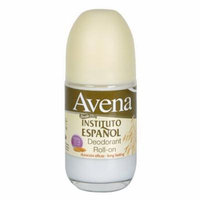 Avena 24 hr Long Lasting Roll-on Deodorant, 2.5 Oz, 2 Pack