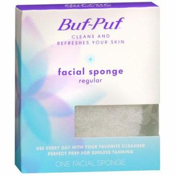 Buf-Puf Facial Sponge, Regular 1 ea(pack of 6)