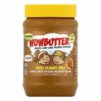 Wowbutter Crunchy Toasted Soy Spread, 17.6 OZ (Pack of 6)