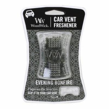 Woodwick Candle Car Vent Freshener - Evening Bonfire