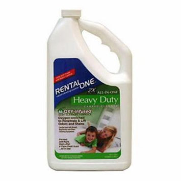 Rental One 1/2 Gallon Fresh Scent 2X All In 1 Heavy Duty Oxy Carpet Cleaner