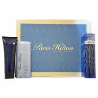 Paris Hilton by Paris Hilton for Men - 3 Pc Gift Set 3.4oz EDT Spray, 3oz Hair & Body Wash, 2.75oz Deodorant Stick