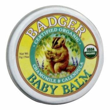 Badger - Baby Balm Chamomile & Calendula - 0.75 oz.(pack of 2)