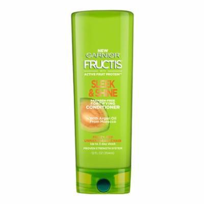 Garnier Fructis Sleek And Shine Fortifying Conditioner, 12 Oz, 6 Pack