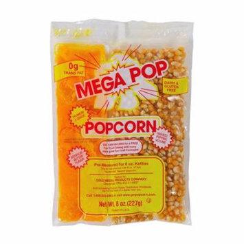 Gold Medal Mega-Pop Popcorn Kettle Kit, 8 oz. | 24/Case