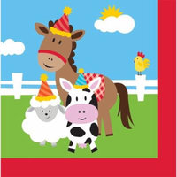 2ply Barnyard Lunch Napkin 20-count