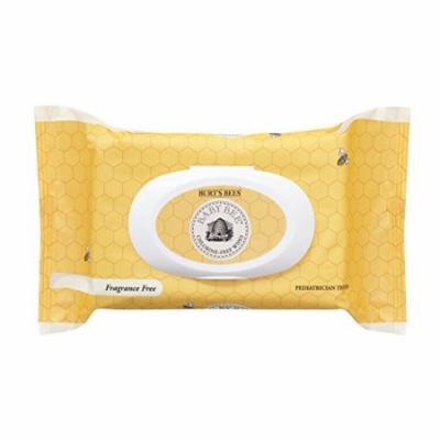 Burt's Bees Baby Bee Chlorine-Free Wipes Fragrance Free 72 Wipes