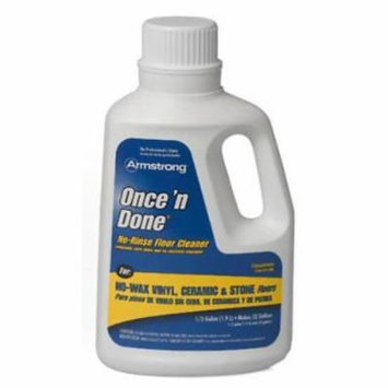 Armstrong Once 'N Done 32 OZ Concentrated Floor Cleaner No Rinse Only One