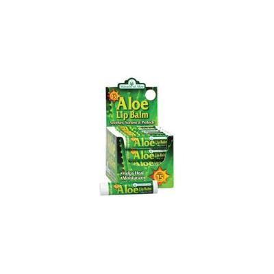 OZ Aloe Lip Balm With SPF 15 Counter Display Soothe