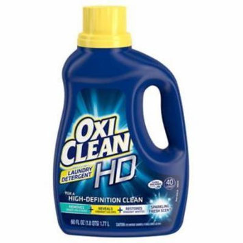 Oxi Clean 60 OZ Fresh Scent Liquid Laundry Detergent Only One