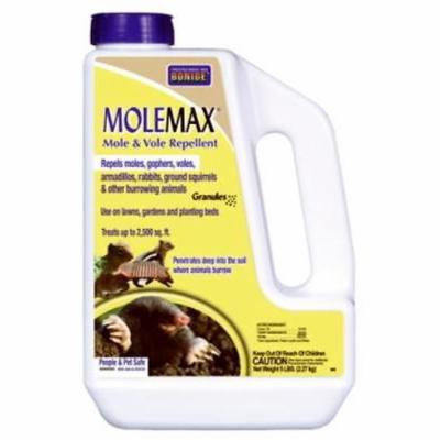 5 B Molemax Mole and Vole Repellent Granules and Bulb Protector Only One